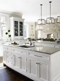 white kitchens with islands white kitchen island with granite top foter