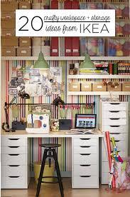 ikea storage ideas 20 crafty workspace storage ideas from ikea babble