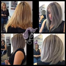 silver hair with low lights here is jessica s beforeandafter yeska1030 from brassy flickr