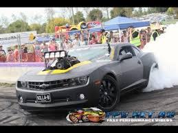 blown camaro killa b blown v8 camaro burnout at lardner park motorfest 2013