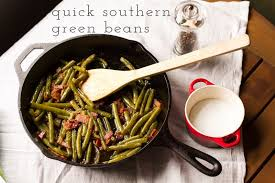 quick southern green beans chattavore