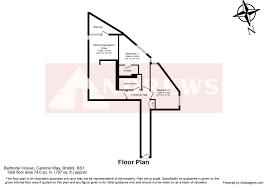 Balmoral Floor Plan 2 Bedroom Flat Balmoral House Canons Way Bristol Bs1 5ln
