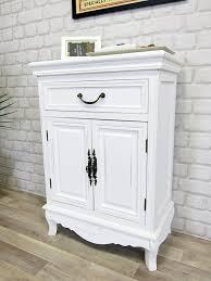 Schlafzimmer Kommode Amazon Elegance Kommode Antik Weiß Landhaus Shabby Chic Amazon De