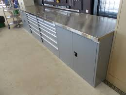 stainless steel workbench cabinets automotive work bench