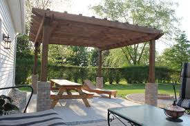 a diy back yard transformation pergola deck u0026 fire pit diy at