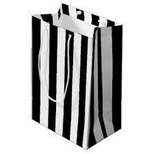 black and white striped gift bags black striped gift bags zazzle