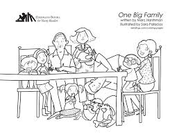one big family coloring session eerdlings