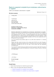 Formal Complaint Letter Against An Employee pudocs new sle resume ideas of sle employee complaint letter