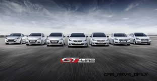 peugeot 208 models 2015 peugeot gt line