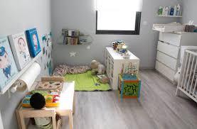 chambre enfant com architecture bleu cadre gris modele ado ameublement moderne