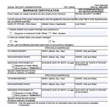 7 marriage certificate templates certificate templates