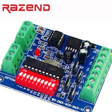 dmx light board controller led rgbw dmx decoder board simple 4 way 4 channel rgbw dmx512
