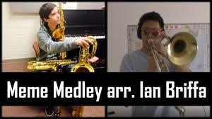Meme Medley - meme medley arr i like to music trombone cover youtube