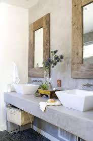 Reclaimed Wood Vanity Bathroom Concrete Vanity Cottage Bathroom Bhg