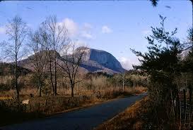 table rock mountain sc climbing trespass nose on table rock state park