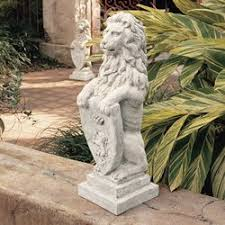 lion statue design toscano beaumaris castle lion statue reviews wayfair