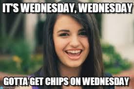 Wednesday Meme - it s wednesday wednesday rebecca black meme on memegen