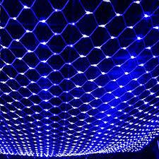 jiaen waterproof decorative led net mesh string light with 8