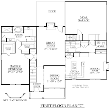 First Floor Master Bedroom Floor Plans by Houseplans Biz House Plan 2727 C The Fairfield C