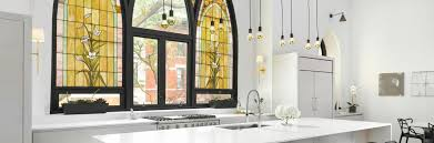 faux stained glass kitchen cabinets almaz studios design and uv printing solution on glass and