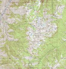 Oregon Topographic Map by Seven Devils Loop Hells Canyon National Rec Area Idaho Free