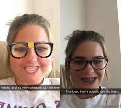 Funny Memes For Teens - this nerdy snapchat filter is disappointingly accurate for these