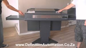 Handicap Accessible Kitchen Cabinets Handicap Accessible Podium From Definition Automation Youtube