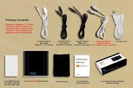 lizone extra pro 26000mah super capacity portable external