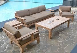 Teak Patio Chairs Teak Deep Seating Patio Furniture Wherearethebonbons Com
