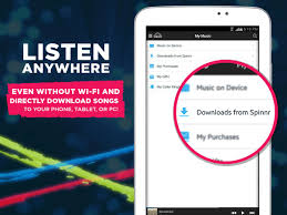 spinnr music android apps on google play