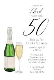 free printable 50th birthday invitation templates greetings island