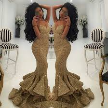 Dress Gold Mermaid Gown Cc Bridal Mermaid Prom Dress Mermaid