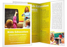 school brochure design templates education brochure templates education foundation school tri fold