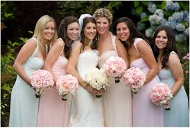 wedding bridesmaid dress colors