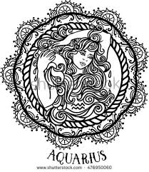 aquarius tattoo zodiac stock images royalty free images u0026 vectors