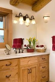 Log Cabin Bathroom Ideas Traditional Style Log Cabin In Montana Home Design Garden