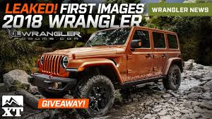jeep wrangler beach cruiser 2018 jeep wrangler jl leaked images u0026 news extremeterrain