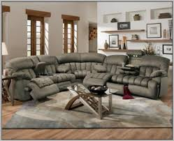 Sectional Recliner Sofa With Cup Holders Leather Sectional Recliner Sofa With Cup Holders Sofas Home