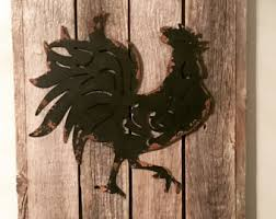 rooster rooster decor rooster kitchen decor metal rooster