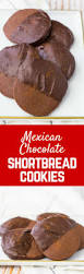 mexican chocolate shortbread cookies chocolate dipped rachel