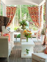 home decorating fabric fabric makeovers for outdoor rooms