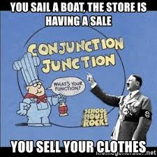 Sail Meme - you sail a boat the store is having a sale you sell your clothes