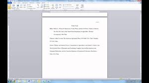 Paper Hanging L Creating An Mla Research Paper Hanging Indent
