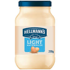 hellmans light mayo nutrition hellmann s light mayonnaise 200g tesco groceries