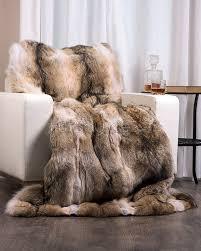 Faux Fur Throw Rugs Coyote Fur Blanket Fur Throw Fur Source Fashion Fur