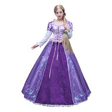 Tangled Halloween Costume Adults Compare Prices Rapunzel Tangled Cosplay Shopping Buy