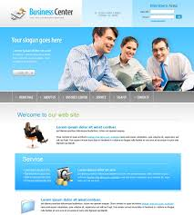 business center webpage template 6166 business website