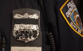 Nypd Business Cards Mourning The Fallen Police Wear Bands For Slain Nypd Officers