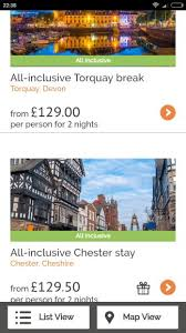 two all inclusive uk breaks inc weekend dates from 109pp