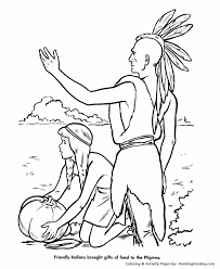 thanksgiving coloring pages thanksgiving native americans